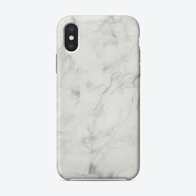 White Marble VII iPhone Case