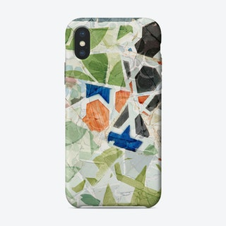 Mosaic of Barcelona XIII iPhone Case