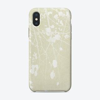 Foliage on Ivory iPhone Case