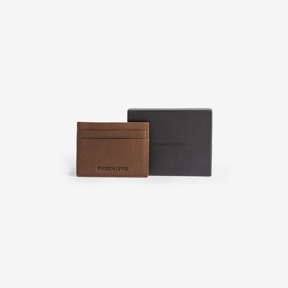 Cardiff Card Holder in Black