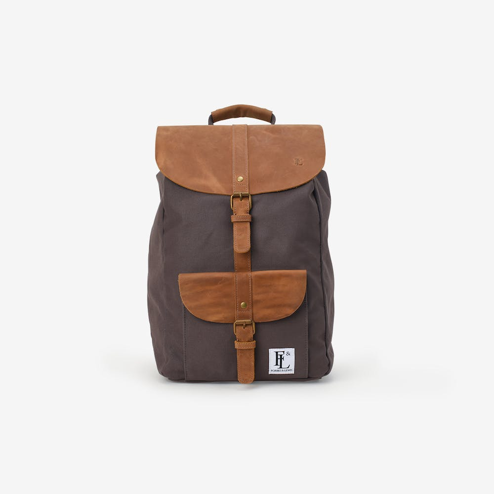 Lincoln Backpack in Grey