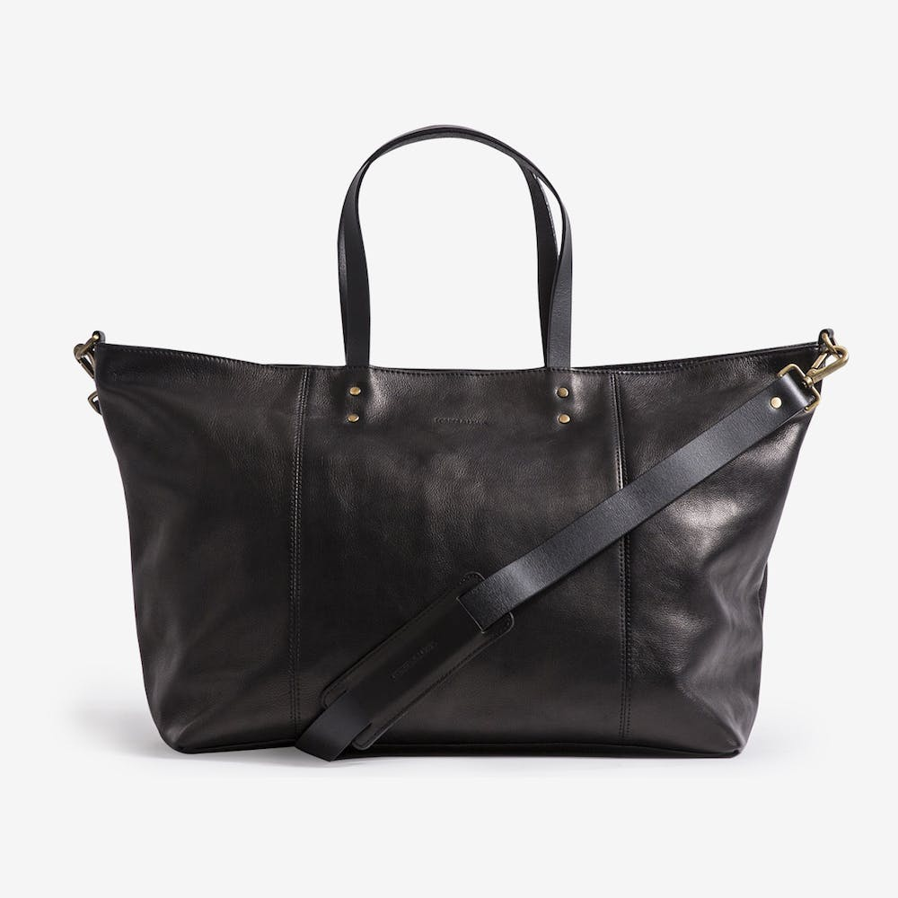Teddington Weekend Bag in Leather