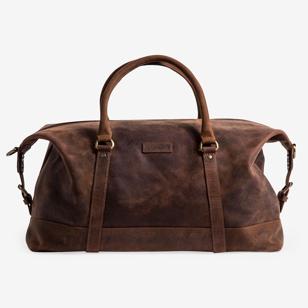 Somerset Holdall Large in Brown Leather