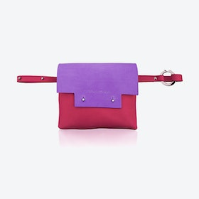 Loveday Bum bag in Berry/Cherry