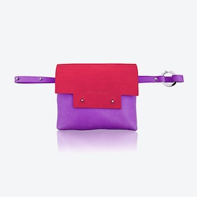 Loveday Bum bag in Cherry/Berry