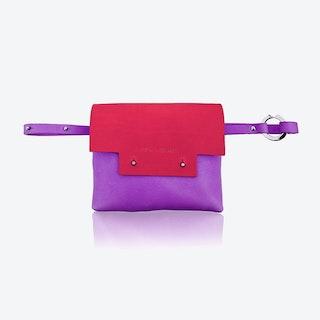 Loveday Bum bag in Cherry/Berry