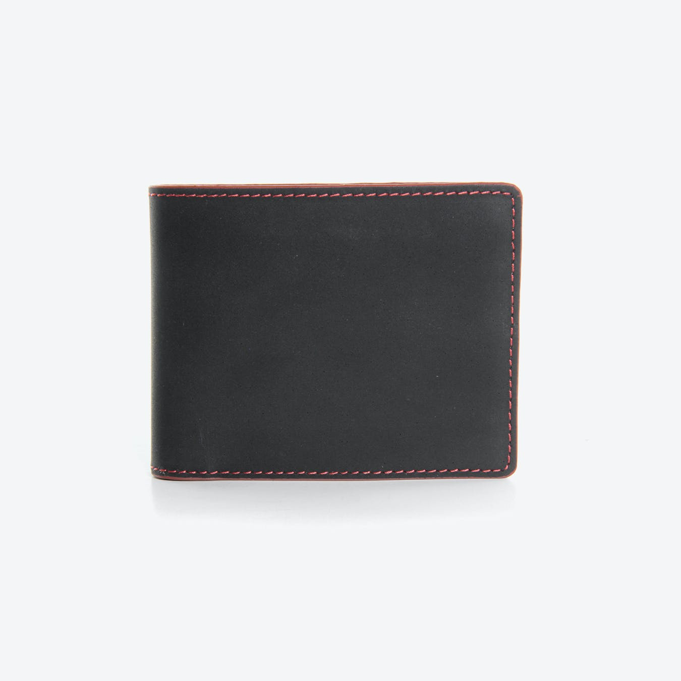 Print Room Wallet in Black Printing Blanket (with Coin Pocket)