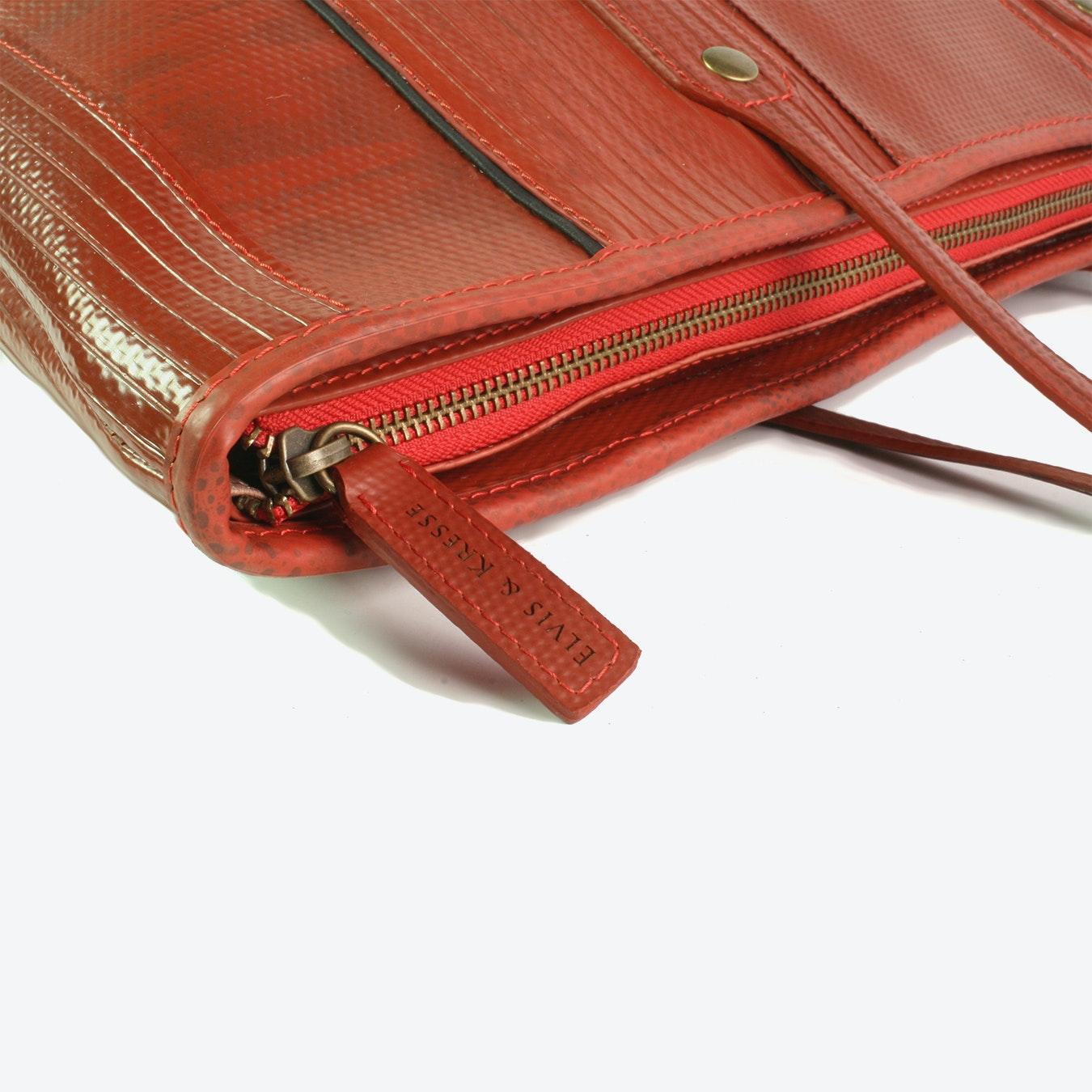 fcb3dd450335 Tote Bag in Red Fire-Hoses by Elvis   Kresse - Fy