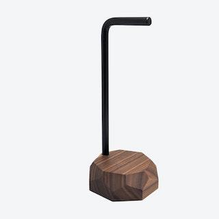 Walnut Headphone Stand