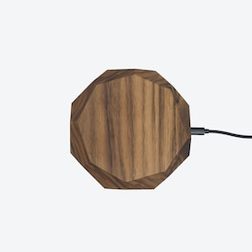 Wireless Charger in Walnut