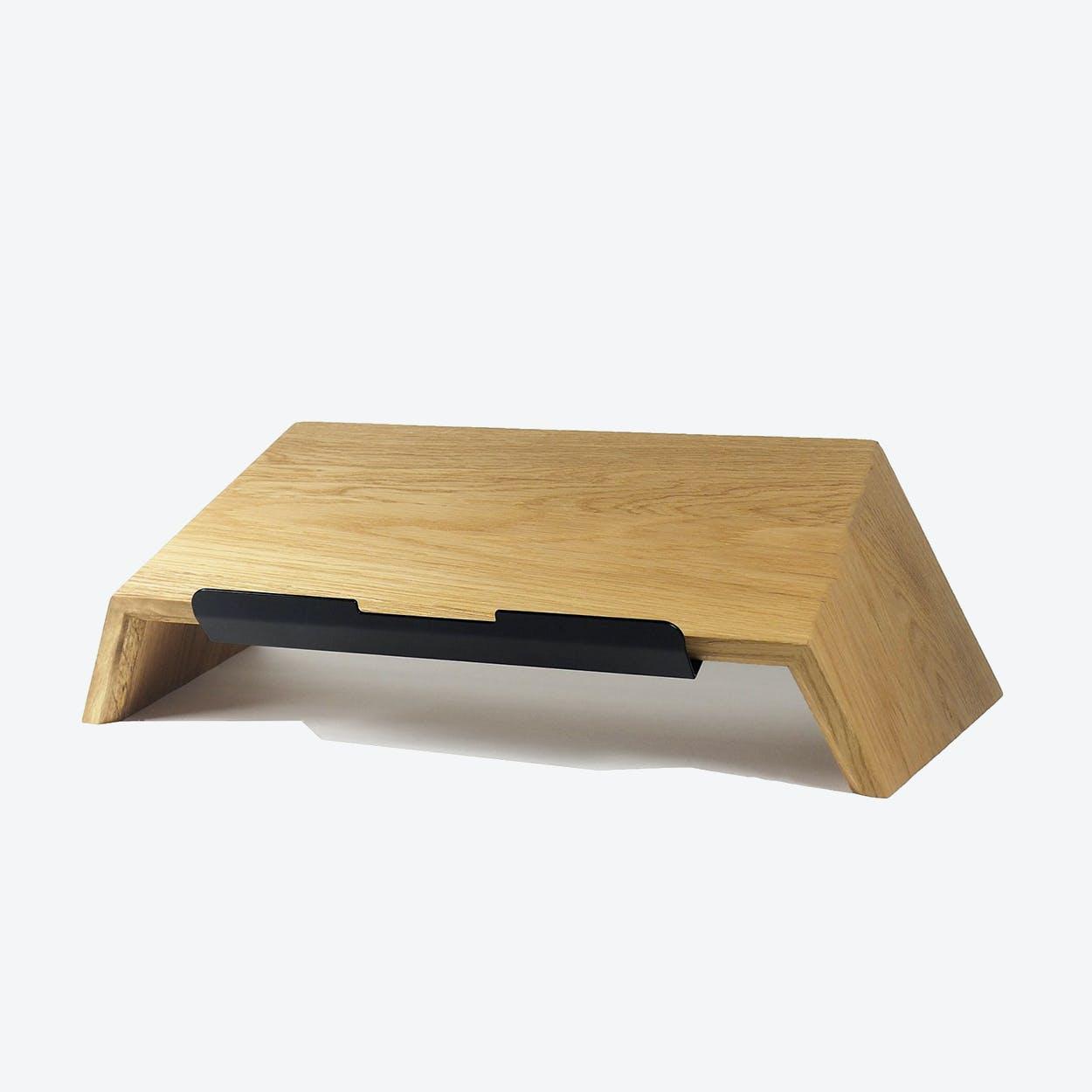 Laptop Stand in Oak