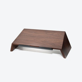 Laptop Stand in Walnut