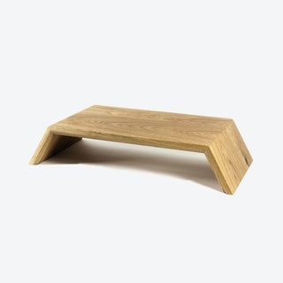 Monitor Stand in Oak