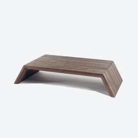 Monitor Stand in Walnut