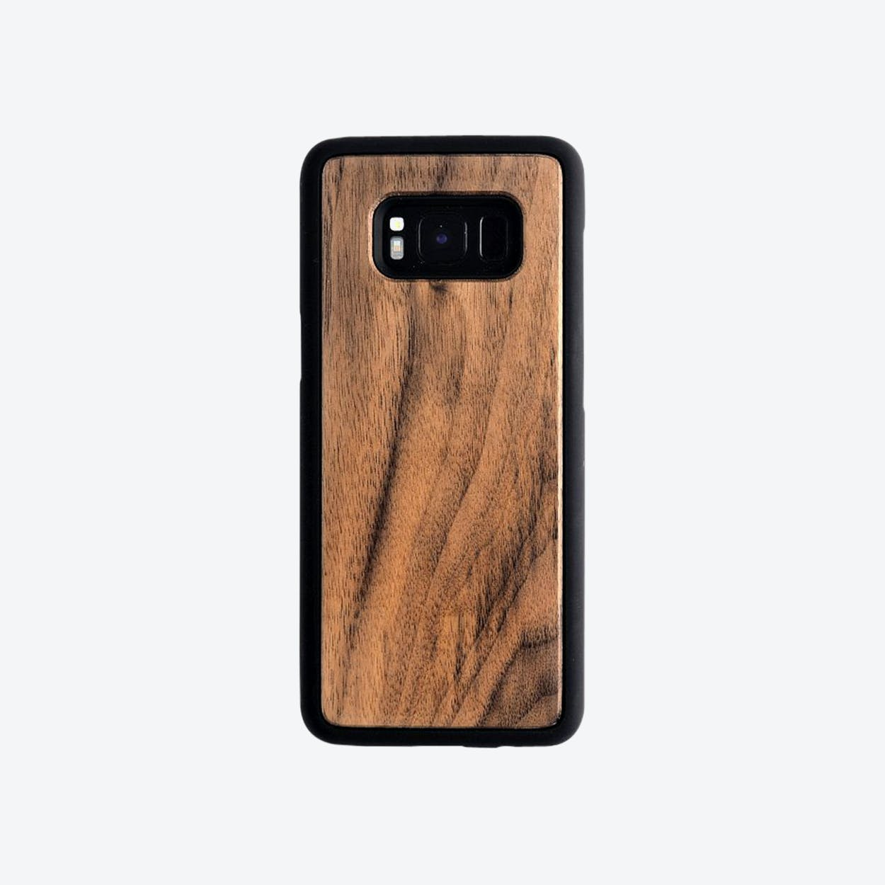 Samsung Bumper Phone Case in Walnut
