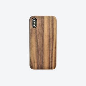 iPhone Case in Walnut