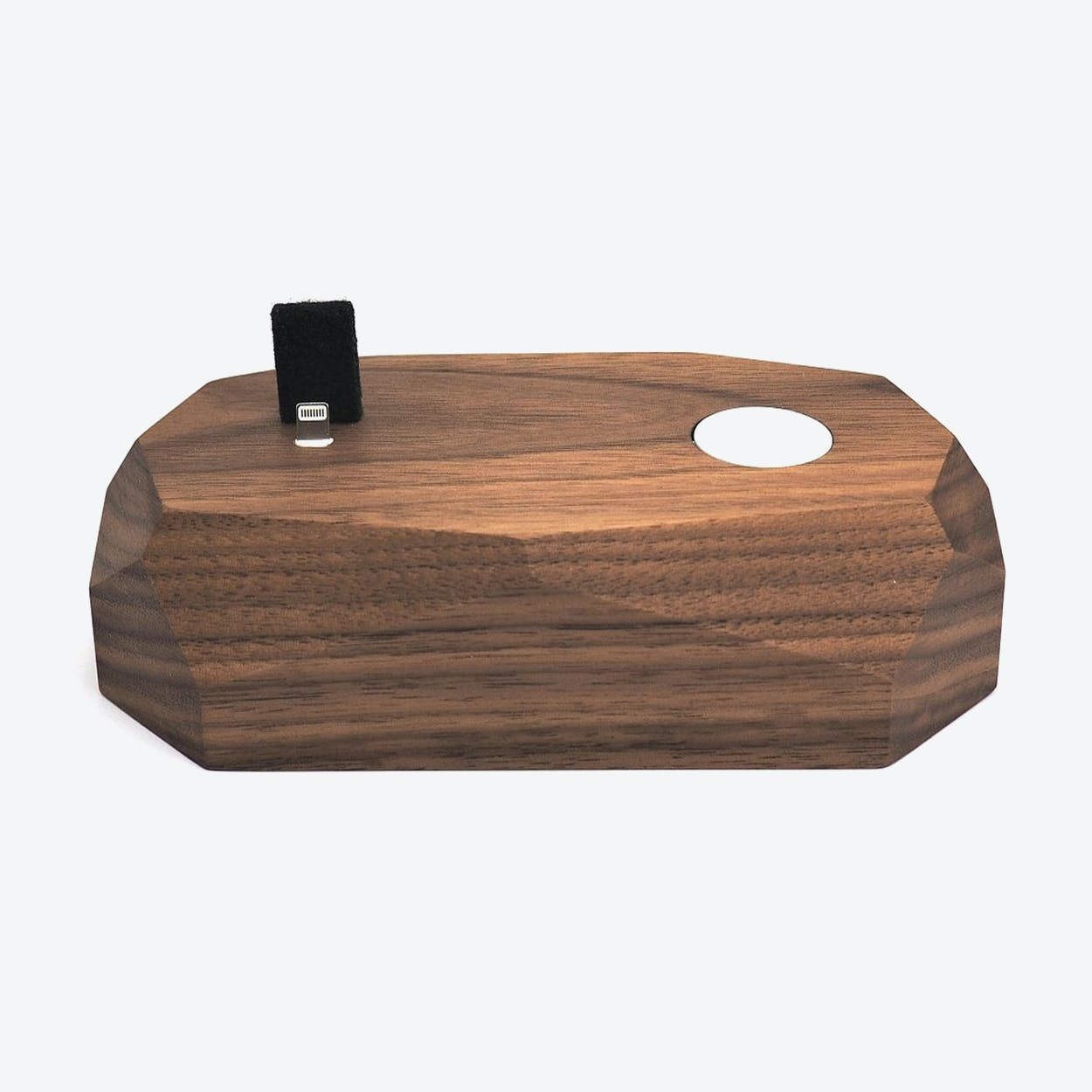 Walnut Combo Dock