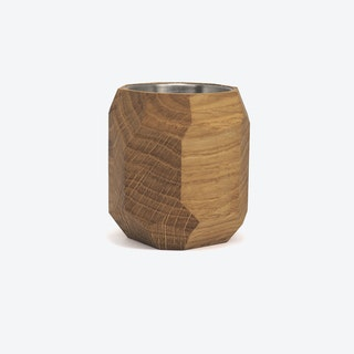 Oak Geometric Planter