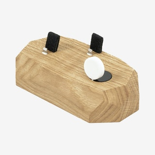 Oak iPhone, Apple Watch & AirPods Dock