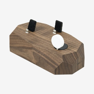 Walnut iPhone, Apple Watch & AirPods Dock