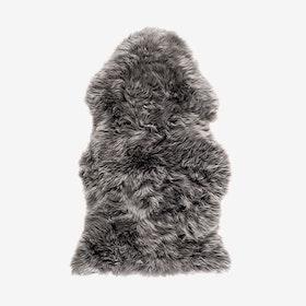 New Zealand Sheepskin Pelt Grey