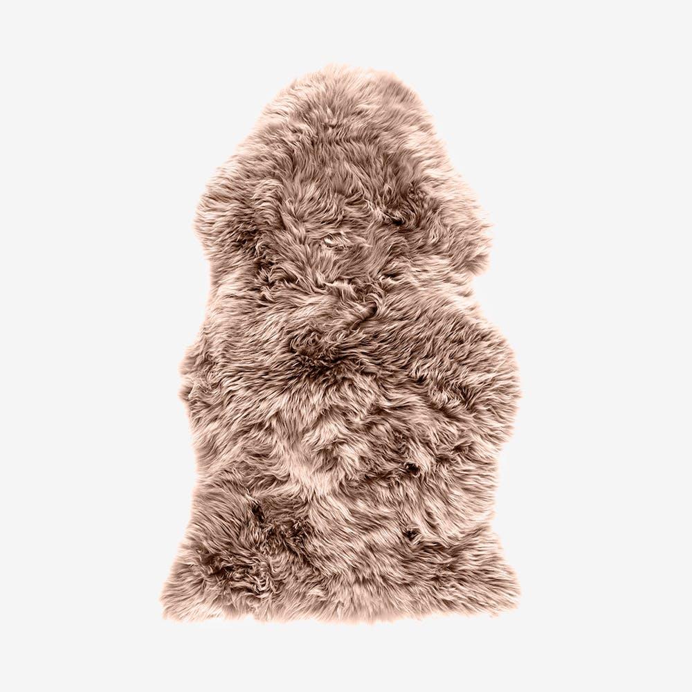 New Zealand Sheepskin Pelt Light Brown