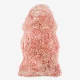 New Zealand Sheepskin Pelt Heavenly Pink