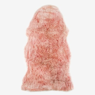 New Zealand Sheepskin Pelt Heavenly Pink