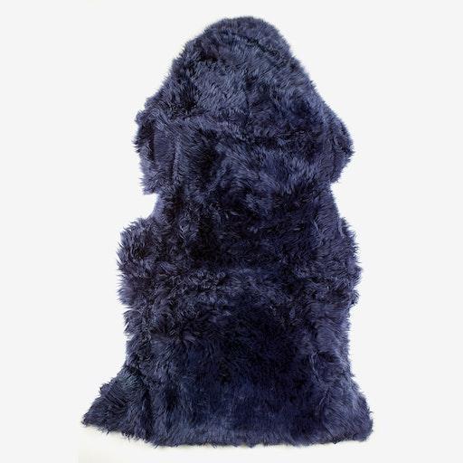 New Zealand Sheepskin Pelt Blue Print