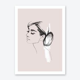 Audrey Art Print II