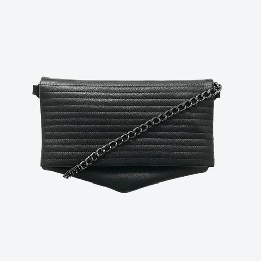 ND Folded Big Pinstripe #7 - 3-in-1 Leather Bag
