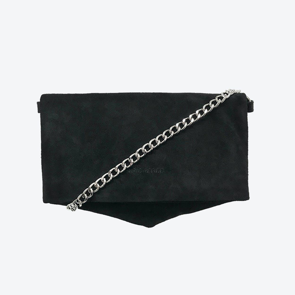 ND Folded Bag #9 - 3-in-1 Suede Bag