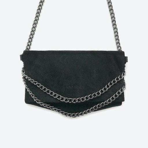 ND Folded Bag #8 - 3-in-1 Suede Bag