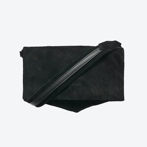ND Folded Bag #11 - 2-in-1 Suede Bag