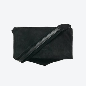 ND Folded Bag #11 - 2-in-1 Suede Bag