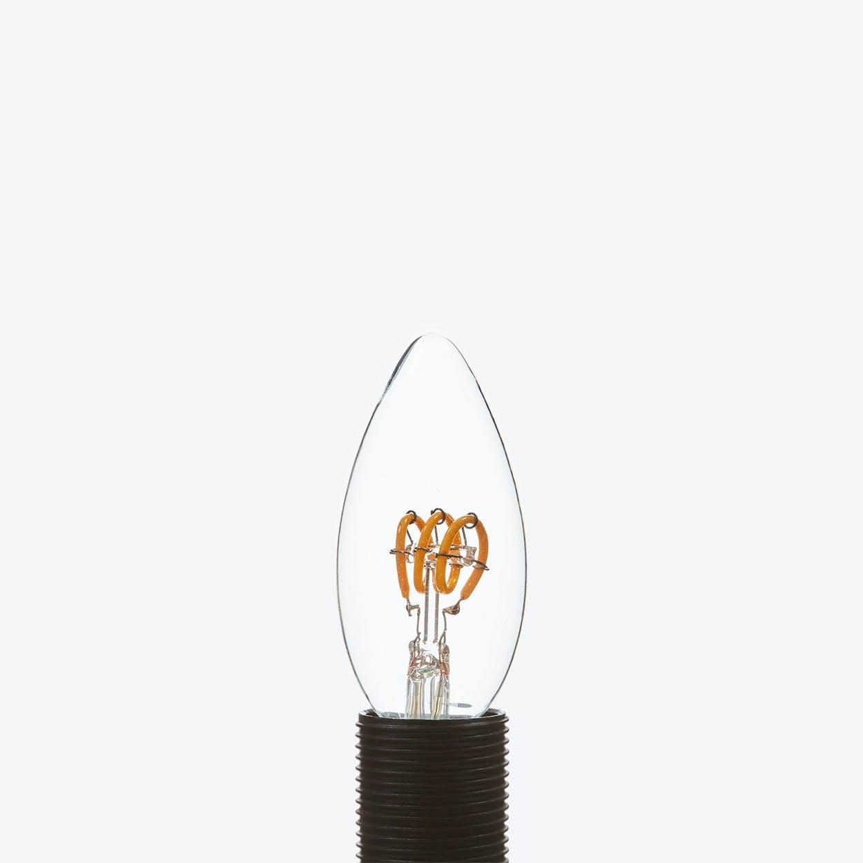 Leda LED Filament Light Bulb Candle