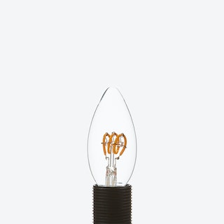 Leda LED Filament Light Bulb Candle