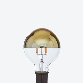 Aurelia LED Filament Light Bulb in Gold Crown