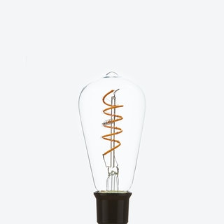 Rhia LED Filament Light Bulb Squirrel Cage