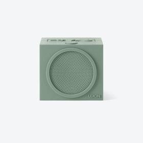 Tykho Bluetooth Speaker in Warm Grey Rubber Case