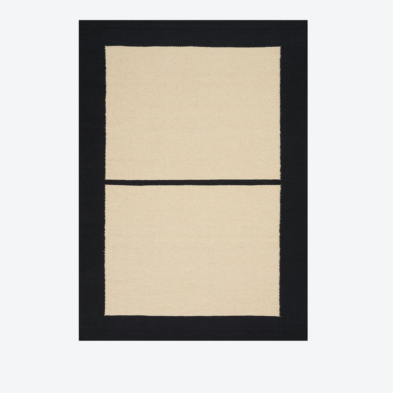 NASHVILLE 753 Rug in Ivory & Black