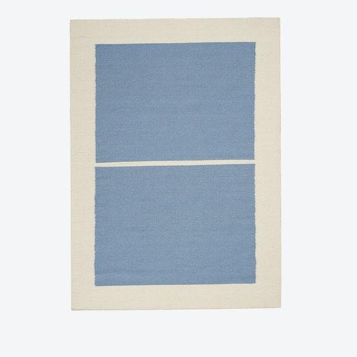 NASHVILLE Rug in Light Blue & Ivory