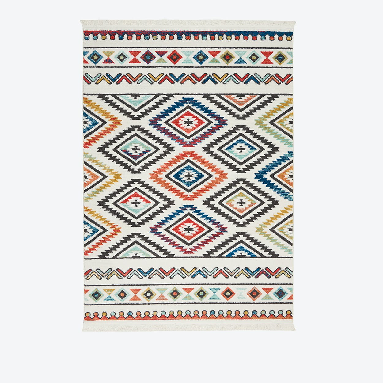 NAVAJO 06 Rug in White