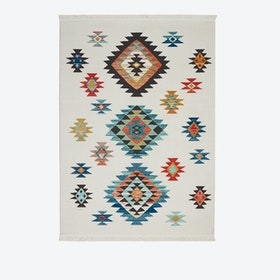 NAVAJO 07 Rug in White