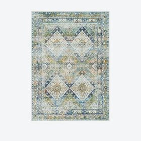 Ankara Global Blue/Green Rug