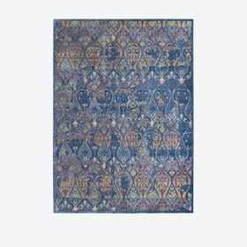 Ankara Global Navy/Multicolour Rug