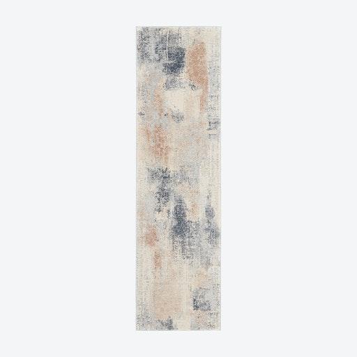 Rustic Textures Beige/Grey Runner