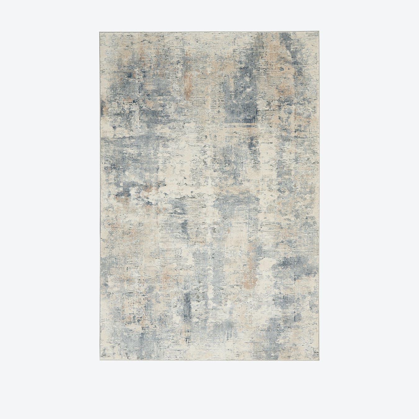 Rustic Textures Grey Rug
