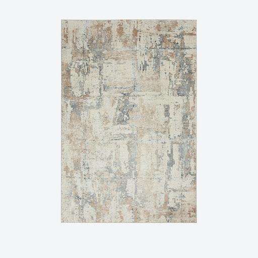 Rustic Textures Rug - Beige/Grey