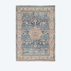 Vintage Kashan Blue Rug